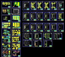 دانلود نقشه اتوکد تاسیسات مکانیک کارخانه به مساحت یازده هزار متر مربع